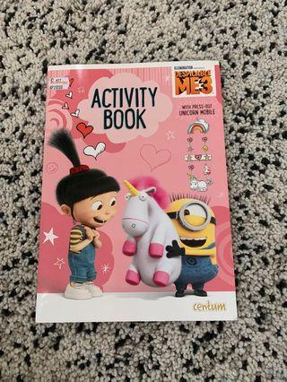 Buku Cerita anak - activity book agnes