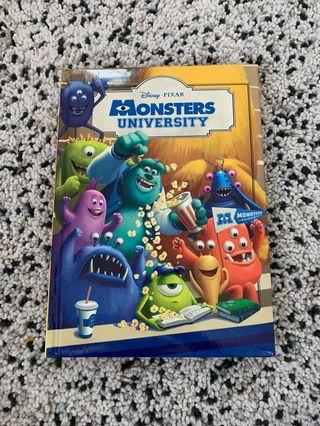 Children book- monster university