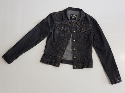 XOXO Jeans Jacket - size: M