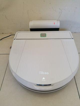 Dibea D850 Intelligent Vacuum Cleaner with Mop #CarouRaya