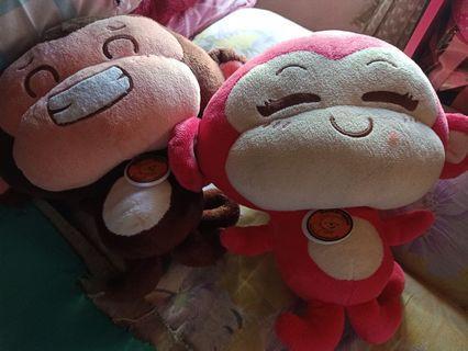 Boneka monyet couple