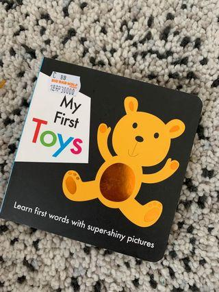 Buku Anak- my first toys