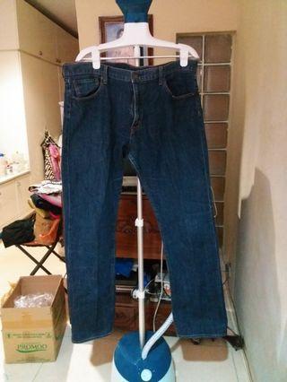 MURAH!!!Jeans pria GU Uniqlo