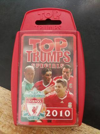 TOP TRUMPS Specials Liverpool 2010