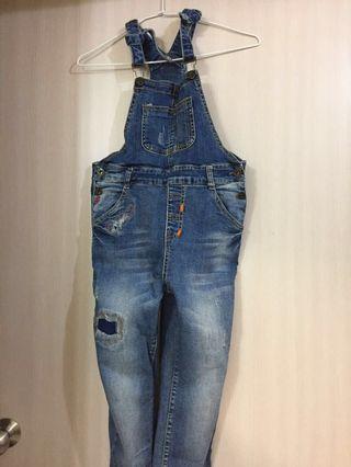 🚚 大兒童吊帶褲(150-155可穿)