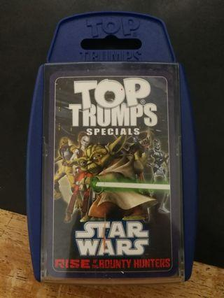 TOP TRUMPS Specials - Star Wars Rise Of The Bounty Hunters