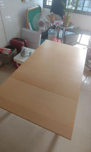 [SALES] IKEA BJURSTA Square Extendable Table Brown