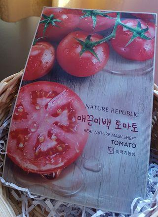 Masker Nature Republic Mask Sheet Tomato 11 pcs