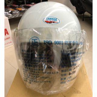 【我最便宜】YAMAHA 安全帽 白色 【半罩式安全帽】【原廠淑女帽】