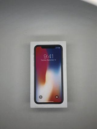 Apple iphone x BOX ONLY