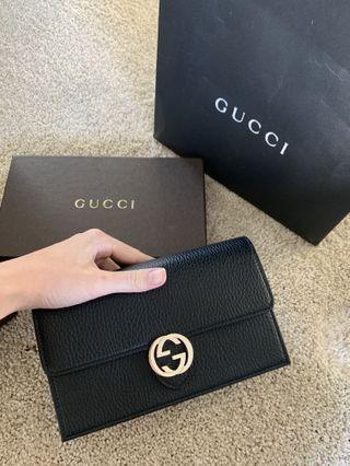 Authenic Gucci mini Chain Bag