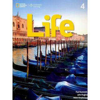 🚚 NATIONAL GEOGRAPHIC LEARNING Life4(附解答,CD)