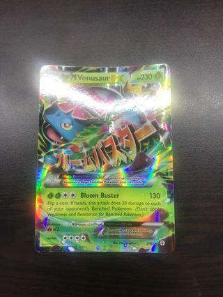 🚚 Pokémon Card-Mega Venusaur EX