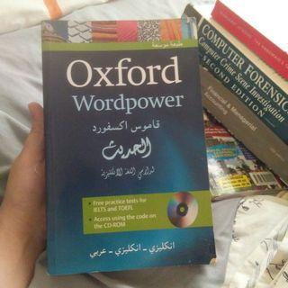 Oxford English Dictionary For Arabic Speaker, Learn English