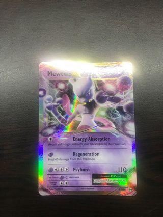 🚚 Pokémon Card-Mewtwo EX