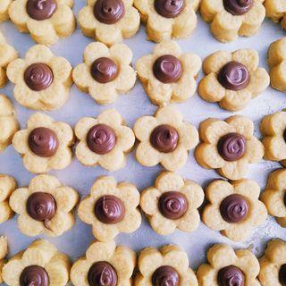 (50 pcs) Halal Mini Nutella Tarts