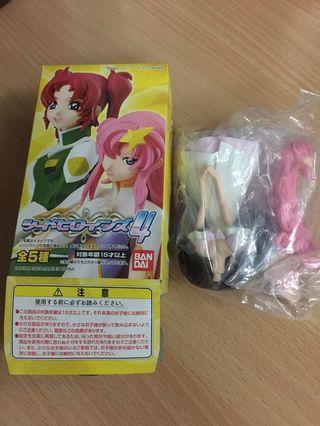 Gundam Seed 女主角 盒玩1隻 高達 機動戰士 - 便服裝 lacus 拉克絲