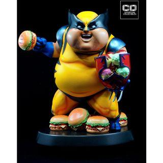 CHUBBY WOLF STATUE BY CO SIGNATURE COLLECTIBLES