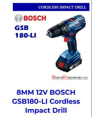Bosch drill GSB 180LI