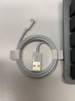 正版iPhone Lightning 充電線 1m