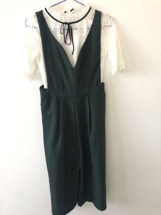 Jumpsuit with top