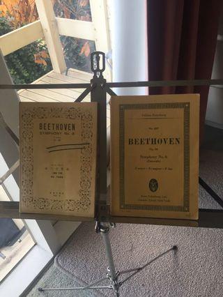 Beethoven music score