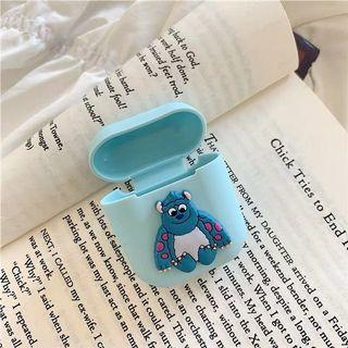 Pixar sulley and mike silicone airpods case