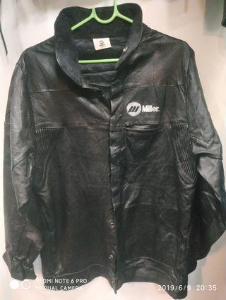 Mills Genuine leather coat