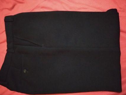 Celana Casual Jet Black