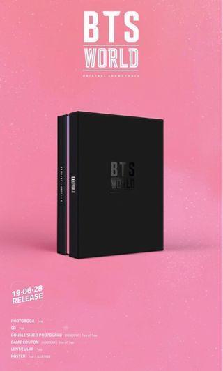 [BIGHIT SHOP PO] BTS World OST album