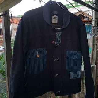 nobrandedon canvas patched trucker not elhaus sage oldblue