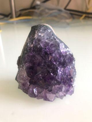 紫晶簇 6 x 6 cm (冇座的)