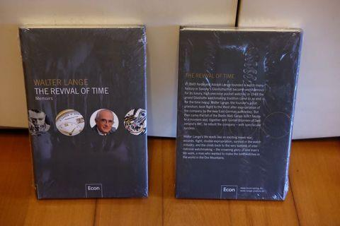 Walter Lange The Revival of Time Hardcover 剩一本
