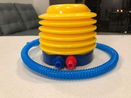 Inflatable foot pump