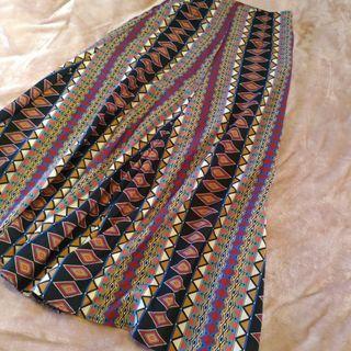Aztec Maxi Skirt