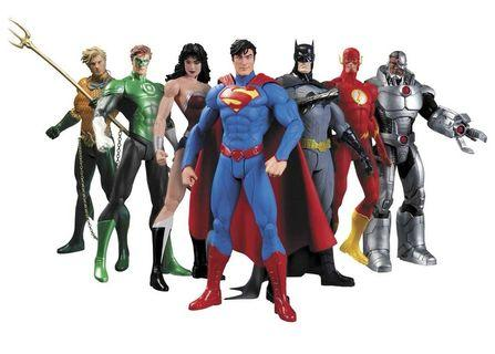 Dc new 52 7 pack