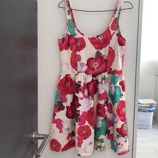 Flower Dress Floral Zara
