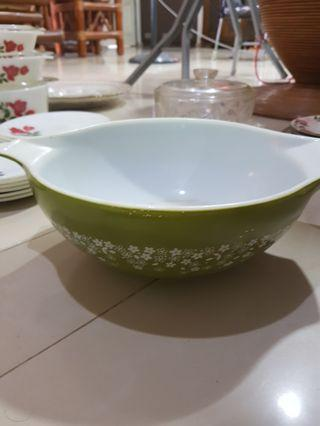 Spring Blossom Green Mixing Bowl