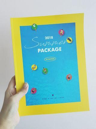 BTS 2018 Summer Package in Saipan Photobook