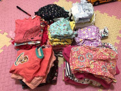 🚚 Bundle of 38pcs girls clothes