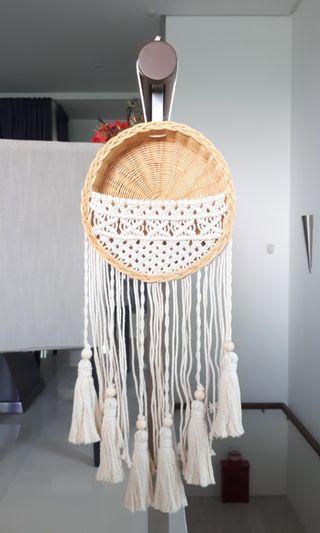 Handmade Macrame Hanging Basket