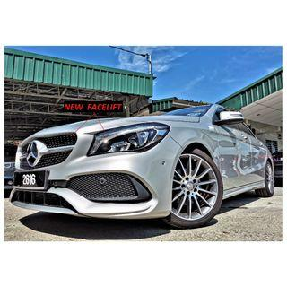 2017 Mercedes-Benz CLA200 1.6 FACELIFT (A) AMG 3000KM UNDER WARRANTY 2021