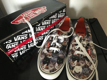 Limited edition aspca x Vans 貓貓鞋休閒鞋  sneakers women us7.5