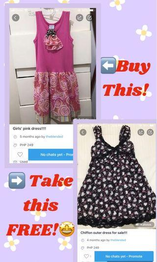BUY 1 Take 1 Girl's Dress‼️🤩