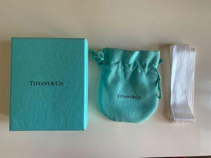 🚚 Authentic Tiffany &Co Necklace Box