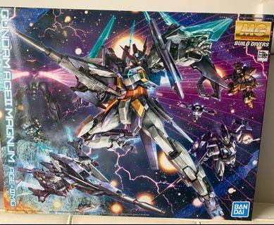 全新 ❌不議價 Gunpla 高達模型 MG gundam age II age 2 magnum build divers