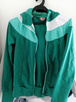Puma green jacket