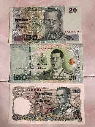 Thai B$20