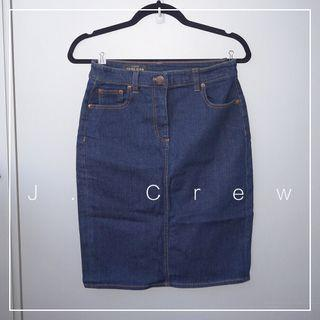 "*NWT* J. Crew Denim Skirt (Waist 26"")"