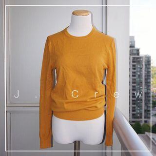 *Like New* J. Crew Crew Neck 100% Italian Cashmere Sweater Women Size XXS (fits like US 2-4)